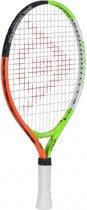 Dunlop JR 19 G9 HQ - Oranje/Groen/Zwart - Tennisracket Unisex - 674561