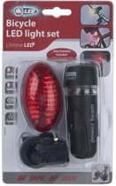 Bicycle Gear Fietsverlichting Set 5 Led Zwart