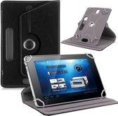 8 inch tablet hoes 360 graden draaibaar zwart universeel