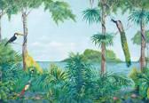 Fotobehang - Blue Lagoon - 366 x 254 cm - Multi