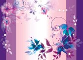 Fotobehang Floral Design | XXXL - 416cm x 254cm | 130g/m2 Vlies