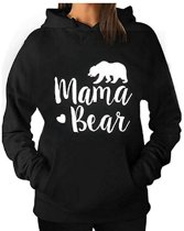 Hoodie sweater | Mama Bear | Maat Medium