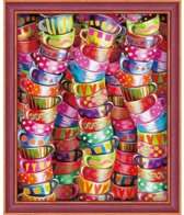 Diamond Painting Bright Tea Time    40x50