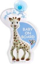 Sophie de Giraf - Baby on board kaart