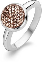 Ti Sento Ring 1915RD - Maat 17.25 mm (54) - Zilver roségoudverguld
