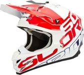 Scorpion Crosshelm VX-15 Evo Air Grid Pearl White/Red/Blue-XL