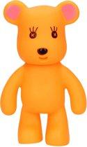 Oranje Beer Kauwspeelgoed met Geluid voor Honden – 19x12 cm