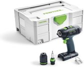 Festool T 18+3 Li Basic Accu Schroefboormachine in Systainer 574763