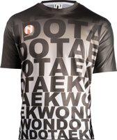 Sneldrogend sportshirt TAEKWONDO Nihon | zwart-grijs | XXL