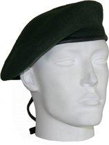 Soldaten baret donkergroen 57 cm