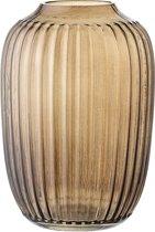Bloomingville - Vaas - Glas Transparant - Bruin - D10xH14 cm