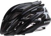 Cycle Tech Helm Unisex Zwart/wit Maat 58-62 Cm
