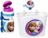 Disney Accessoiresset Frozen Wit/roze/blauw 3-delig