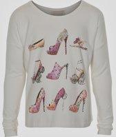 Creamie - meisjes shirt - model Clara - mauve - Maat 116