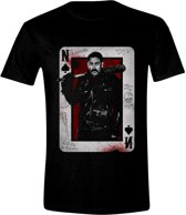 The Walking Dead - Negan Playing Card Men T-Shirt - Zwart - Maat S