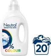 Neutral 0% Parfumvrije Wasmiddel Kleur - 20 wasbeurten