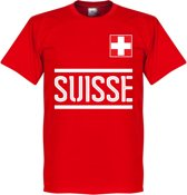 Zwitserland Team T-Shirt - XXXL