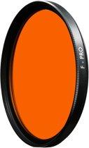 B+W 040 geel-oranje kleurcorrectie filter met MRC coating 58mm