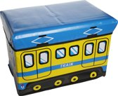 Cosy&Trendy for kids Kiddie Opbergzitbox Train - 49 cm x 31 cm