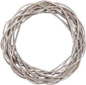 Clayre & Eef Decoratie krans grijs Ø 50x9 cm