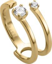 Esprit ESRG003513 Lure ring - Zilver geelgoudverguld - Goudkleurig