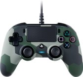 Nacon Playstation 4 Official Licensed Wired Compact Controller - PS4 - Camo