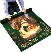 Afbeelding van Puzzelrolmat - 2000 Stukjes - 90 x 120 cm - Groen speelgoed