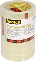 Scotch® Transparante Tape, Toren, 19 mm x 66 m, 8 Rollen/Pak