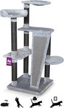 Petrebels Krabpaal Kings & Queens - Alexander 129 - royal grey - 129cm - 20 kg