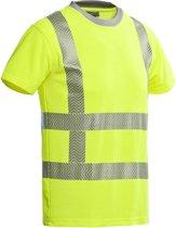 Santino t-shirt Vegas - fluor yellow - 200171 - maat L