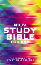 NKJV, Study Bible for Kids, Softcover, Multicolor