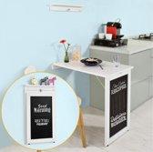Tafel - Klapbaar- Wandmontage - Bord - Eeettafel in de keuken