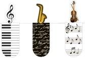 Moses Magnetische Boekenleggers Muziek 6 Cm 3 Stuks