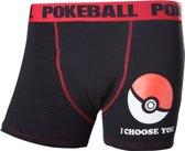 Pokémon - Poké Ball Boxershort - Maat S