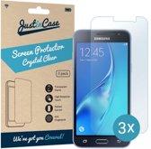 Just in Case Screen Protector voor Samsung Galaxy J3 (2016) - Crystal Clear - 3 stuks