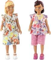 Lundby poppenhuis Set - Twee meisjes