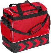 Hummel Pro Bag Supreme Sporttas - rood/zwart - 50 x 48 x 32 cm
