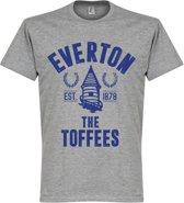 Everton Established T-Shirt - Grijs - XL