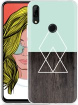 Huawei P Smart Z Hoesje Wood Simplicity