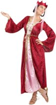 Middeleeuwse koningin kostuum voor dames - Verkleedkleding - Small