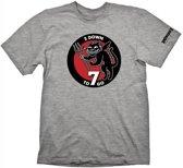 Wolfenstein 2 T-Shirt Patch (Maat S)