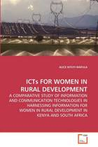 Icts for Women in Rural Development