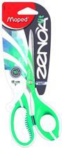 Zenoa Fit schaar 18 cm - asymmetrisch - zachte grepen - bimaterial - groen