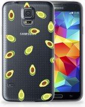 Samsung Galaxy S5 Uniek TPU Hoesje Avocado