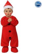 Kerstman verkleedpak voor baby-Maat:6-12 months