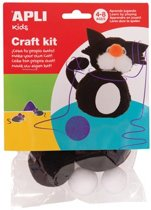 Apli Kids chenilledraad crea kit kat op blister