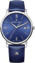 Maurice Lacroix EL1118-SS001-410-1 horloge heren - blauw - edelstaal