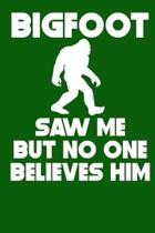 Bigfoot Saw Me But No One Believes Him