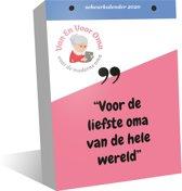 Scheurkalender 2020 Van En Voor Oma, oma cadeau, cadeau oma