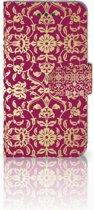 iPhone 6 | 6s Boekhoesje Design Barok Pink